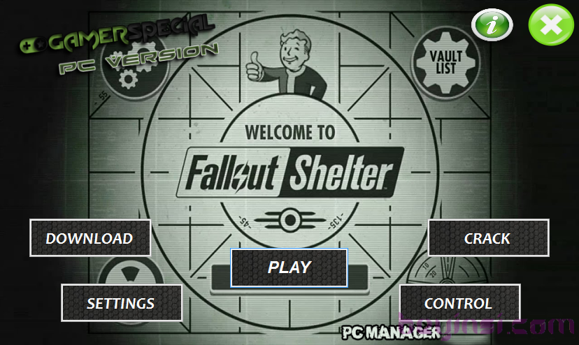 Fallout Shelter- pc1- beyinsi