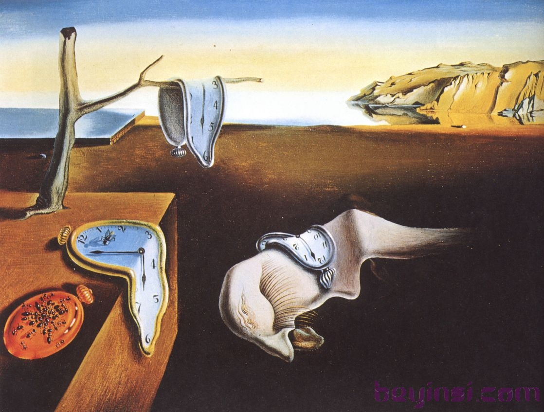 The Persistence of Memory-dali